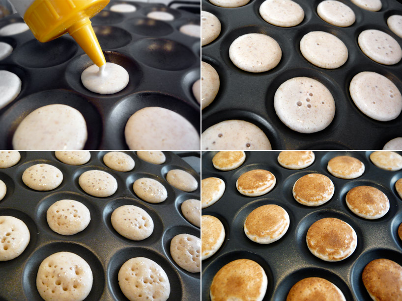 how to make small thick pancakes