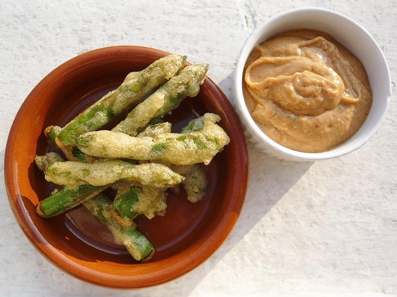 ... and walnut phyllo pie aka asparagus baklava with avgolemono sauce
