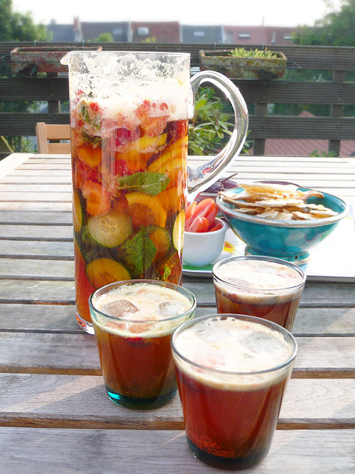 Les saveurs de l t pimm s and lemonade londoneats for What to mix with pimms