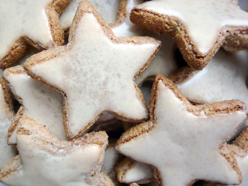 Zimtsterne Cinnamon Stars Londoneats