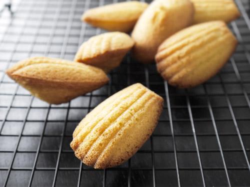 Lemon Cardamom Madeleines Recipe — Dishmaps